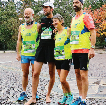 Mezza maratona Lodi scalzo 310