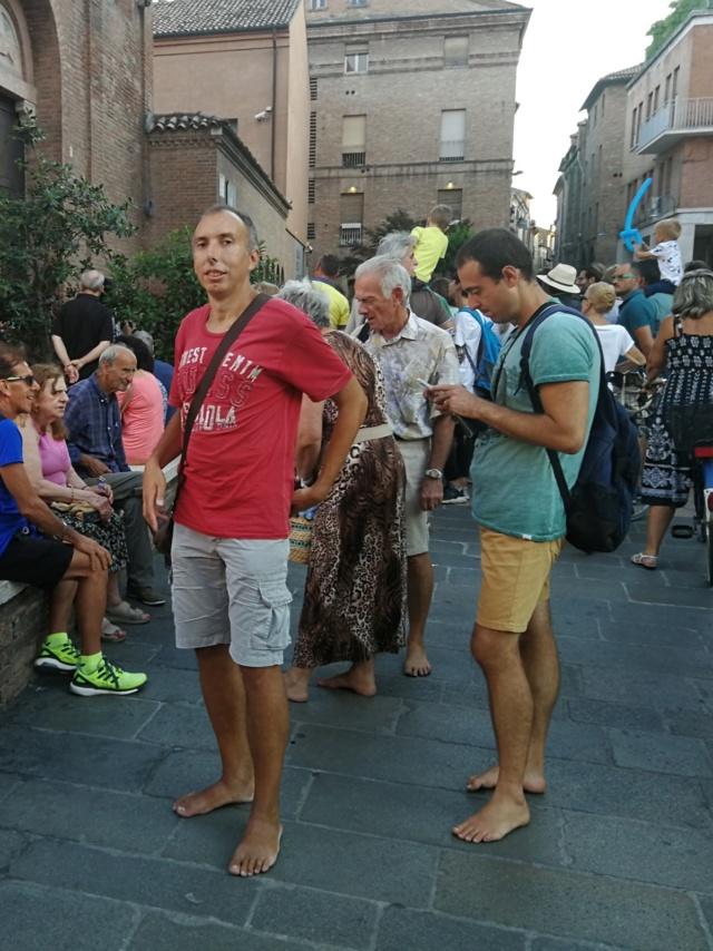 21 Agosto: serata al Ferrara Buskers Festival Amici11