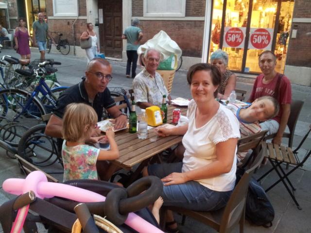 21 Agosto: serata al Ferrara Buskers Festival Cena10