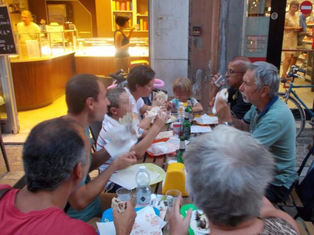 21 Agosto: serata al Ferrara Buskers Festival Cena310