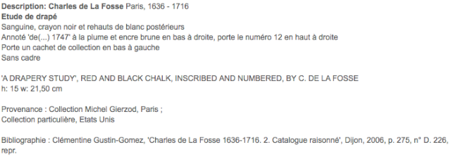 Exposition Charles de la Fosse en 2015 Captu119