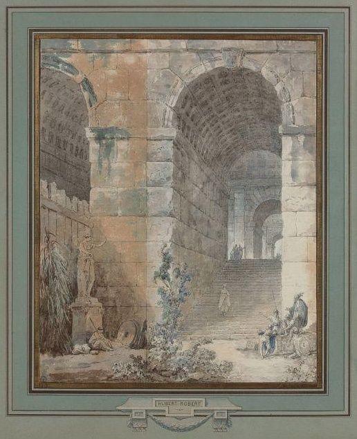 Exposition Hubert Robert au Louvre. 09/03-30/05 2016 Captur68