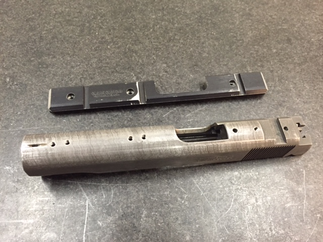 To weld on slide or not ?  Reming11