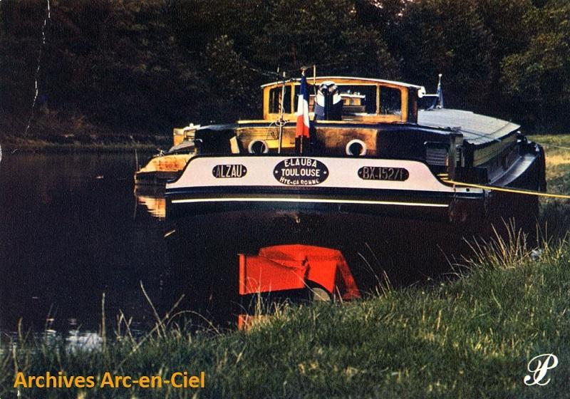 péniche du canal du Midi au 1/50è sur plans Alzau_12