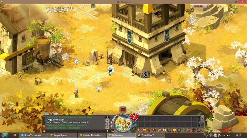 "[Maj-Beta] Dofus en grand, la beta ""long terme"" Scr510"