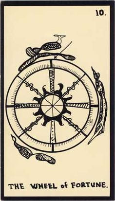 Baraja - Tarot Astral, 1969 por Mont-Saint-Johns 1011