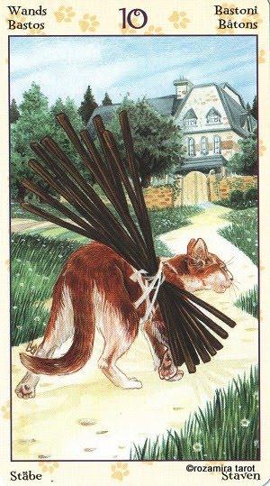 Tarot of Pagan Cats 1012