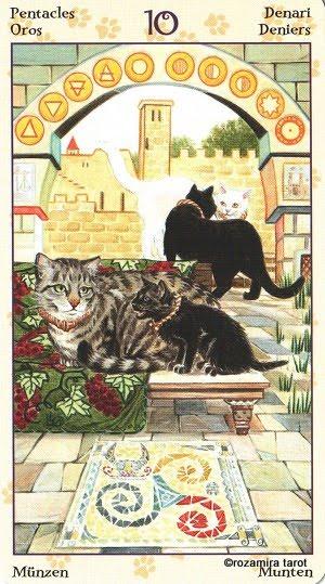 Tarot of Pagan Cats 1014