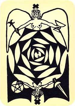 Baraja Psycho-Tarot por Hurley y Horler 10_whe10