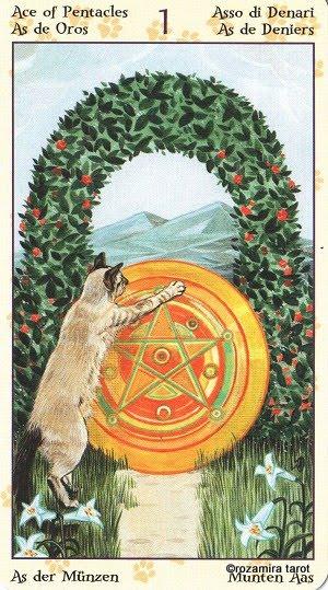 Tarot of Pagan Cats 115