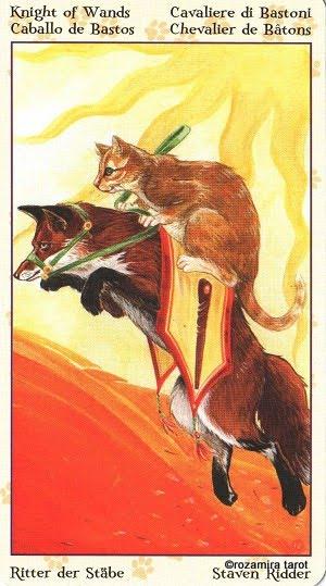 Tarot of Pagan Cats 1213