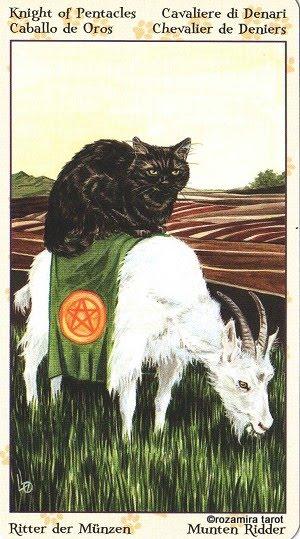 Tarot of Pagan Cats 1215