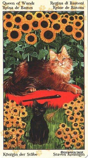 Tarot of Pagan Cats 1313