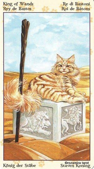 Tarot of Pagan Cats 1413