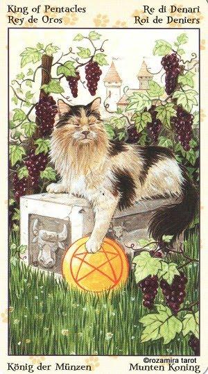Tarot of Pagan Cats 1415