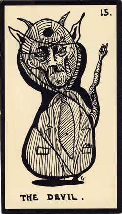Baraja - Tarot Astral, 1969 por Mont-Saint-Johns 1512