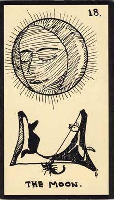 Baraja - Tarot Astral, 1969 por Mont-Saint-Johns 1812