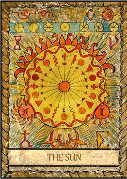 El Tarot de Samiramay - Preciosísima baraja 1910