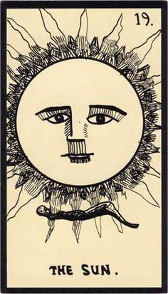 Baraja - Tarot Astral, 1969 por Mont-Saint-Johns 1911