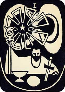 Baraja Psycho-Tarot por Hurley y Horler 1_magi10