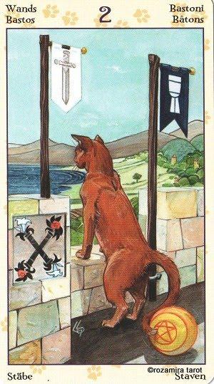 Tarot of Pagan Cats 213