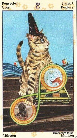 Tarot of Pagan Cats 214