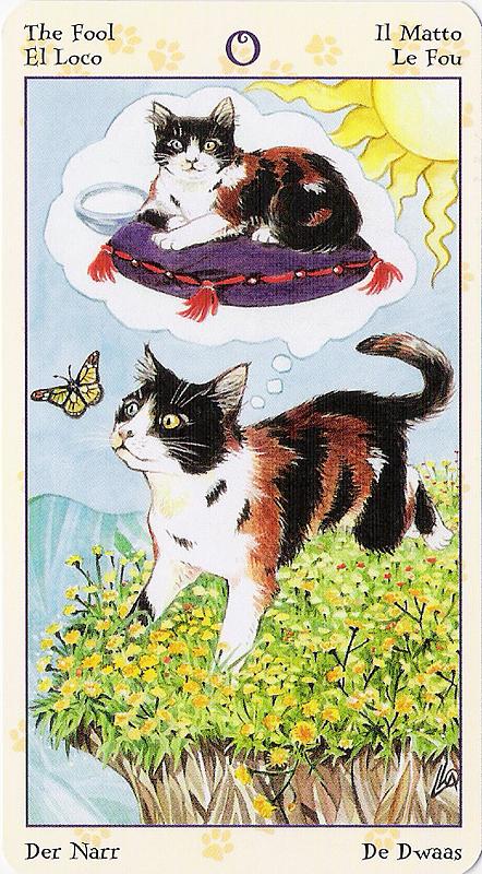 Tarot of Pagan Cats 22070210