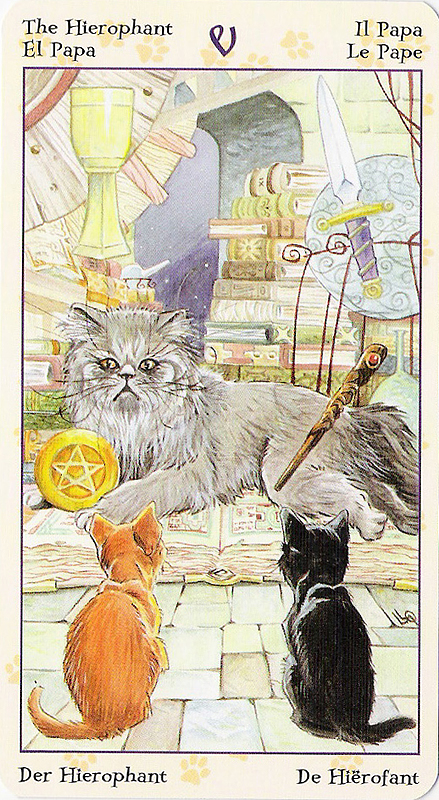 Tarot of Pagan Cats 22070215