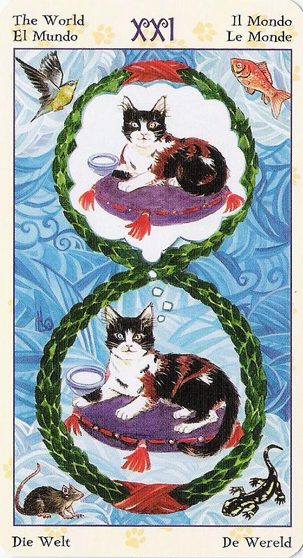 Tarot of Pagan Cats 22070231
