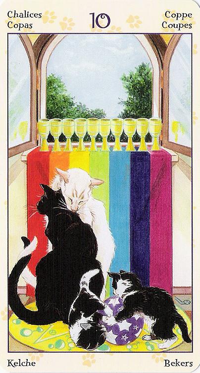 Tarot of Pagan Cats 22266919