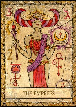 El Tarot de Samiramay - Preciosísima baraja 310