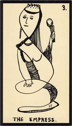 Baraja - Tarot Astral, 1969 por Mont-Saint-Johns 312