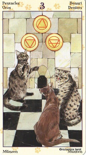 Tarot of Pagan Cats 314