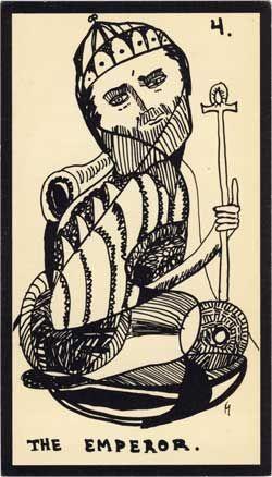 Baraja - Tarot Astral, 1969 por Mont-Saint-Johns 412