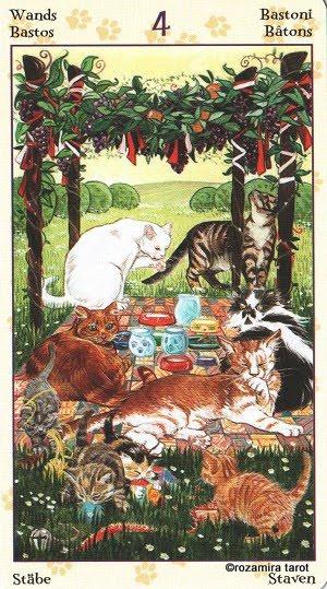 Tarot of Pagan Cats 413