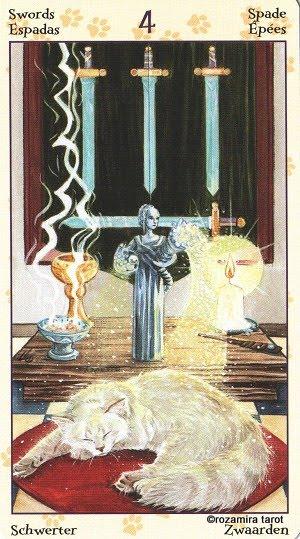 Tarot of Pagan Cats 414
