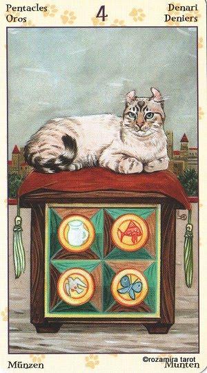 Tarot of Pagan Cats 415