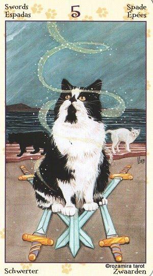 Tarot of Pagan Cats 514