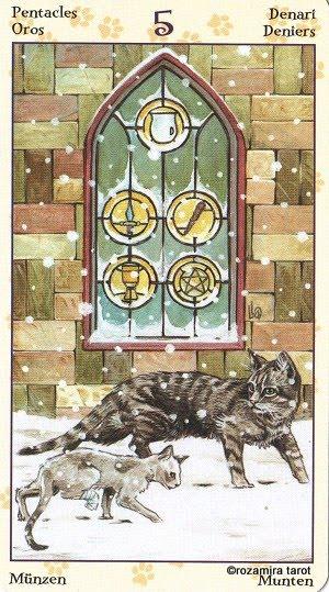 Tarot of Pagan Cats 515