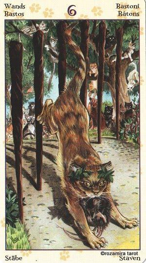 Tarot of Pagan Cats 614