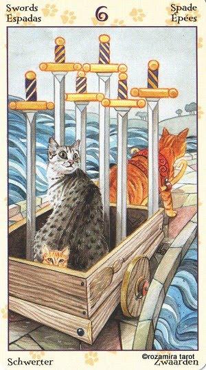 Tarot of Pagan Cats 615