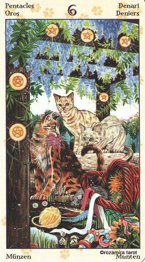 Tarot of Pagan Cats 616