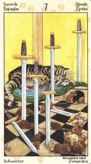Tarot of Pagan Cats 714