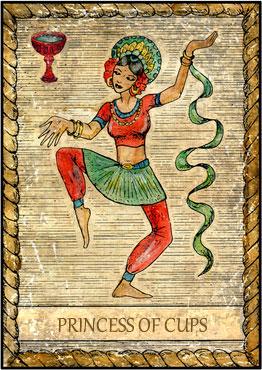 El Tarot de Samiramay - Preciosísima baraja 7510