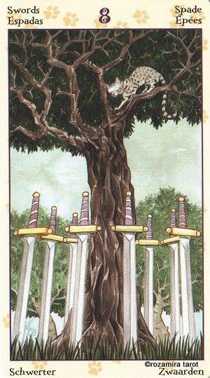 Tarot of Pagan Cats 814