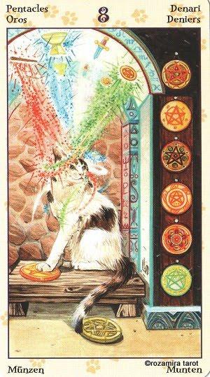 Tarot of Pagan Cats 815