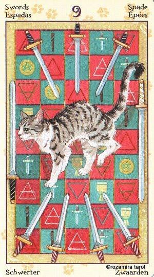 Tarot of Pagan Cats 913