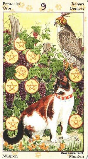 Tarot of Pagan Cats 914