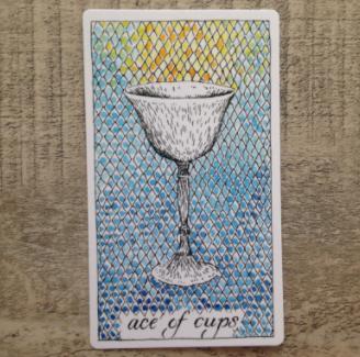 El Salvaje desconocido - Tarot - Copas As_de_11