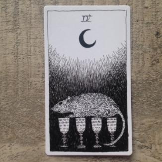 El Salvaje desconocido - Tarot - Copas Cuatro11